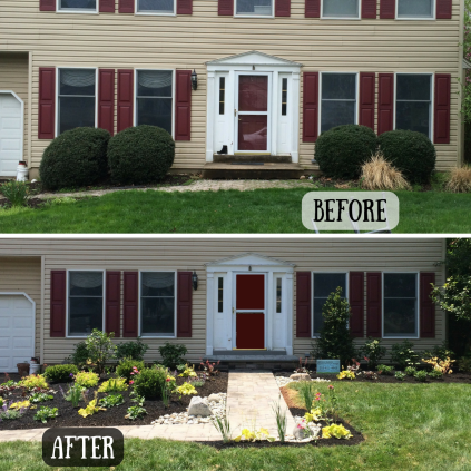 before and after Coleman garden copy