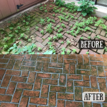 bricks before and after